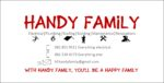 Handy Family Business Card